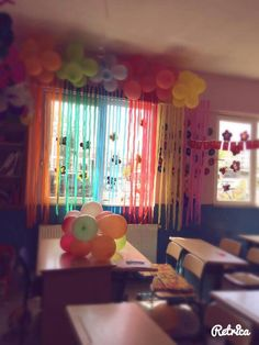 Bayram  sinif  süsleme Classroom Activities, Craft Activities, Classroom Organization, Classroom Decor, Homemade Party Decorations, Birthday Party Decorations, Cardboard Relief, Ballon Decorations, Art Corner