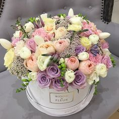 Birthday flowers bouquet beautiful roses gift centerpieces The Effective Pictures We Offer Yo Luxury Flowers, Pretty Flowers, Beautiful Flower Arrangements, Floral Arrangements, Happy Birthday Flower, Flowers Birthday Bouquet, Birthday Flowers For Her, Gift Flowers, Flower Bouquets