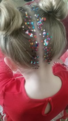 Space Buns & Glitter Roots - Imgur