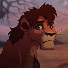 ________________ Art © X-Zelfa Kovu © Disney Please, do not use/copy this art/character! Lion King 2 Kovu, The Lion King 1994, Lion King Fan Art, Lion Art, Disney Lion King, Kiara And Kovu, Easy Disney Drawings, Lion King Drawings, Lion King Pictures