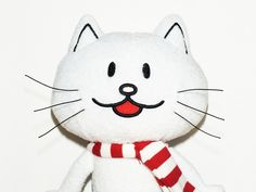"""""""I'd run away with you.""""  #words #quotes photography #portrait #plush #white #cat #ahsheegrek"""