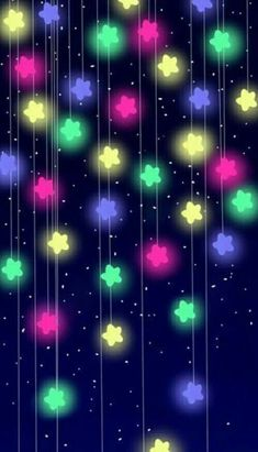 25 Cutest iPhone X Wallpaper Case Cover Ever - Christmas Colorful Stars Handy Wallpaper, Star Wallpaper, Wallpaper For Your Phone, Kawaii Wallpaper, Tumblr Wallpaper, Galaxy Wallpaper, Colorful Wallpaper, Cellphone Wallpaper, Screen Wallpaper