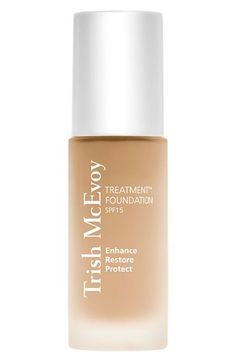 An advanced moisture-boosting, skin-improving formula that contains dual-action peptides and antioxidants to combine the power of color and skincare as it instantly diffuses fine lines and rejuvenates skin with regular wear. Gluten Free Makeup, Foundation With Spf, Skin Treatments, Concealer, Lotion, Moisturizer, Skin Care, Cosmetics, Nordstrom