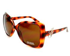 Special Offers Available Click Image Above: Guess Sunglasses Gu 6521 To1 Acetate Havana Brown