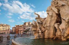The Piazza Navona neighbourhood of Rome