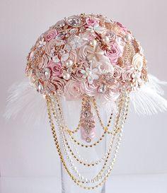 Crystal Wedding Bouquet Brooch Bouquet Wedding от LoveBouquet