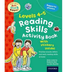 Oxford Reading Tree Read with Biff, Chip, and Kipper: Levels 4-5: Reading Skills Activity Book : Roderick Hunt : 9780192734426