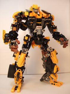 Transformers, Bumblebee, Movie Version by Johnny-Dai #lego #robot #mecha