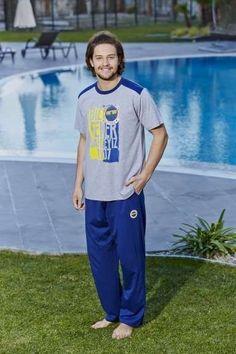 Fenerbahçe Lisanslı BAY Erkek Pijama Takımı I ERKEK I Roly Poly I Fenerbahçe Lisanslı BAY Erkek Pijama Takımı - camasircimshop.com