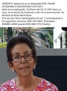 Familia pide ayuda para localizar señora desaparecida