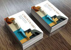 Business card-Arrows 3D by SZeta on Creative Market