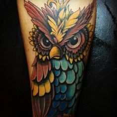 http://tattoo-ideas.us #Owl tattoo