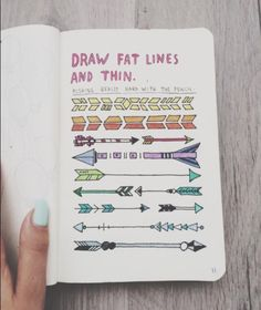 Draw fat lines and thin| @brightsobright