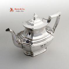Carmel Tea Pot Wallace 1930 Sterling Silver