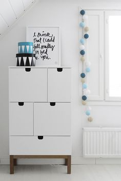Kids room - Drawer and happylights