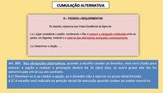 Cumulação Alternativa de pedidos no Novo CPC/2015 - Cursos Online de Prática Forense Civil Prof Alberto Bezerra