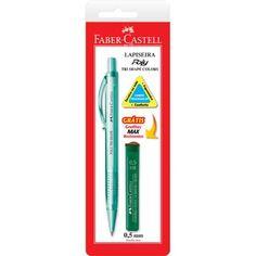 Lapiseira 0.5mm Poly Tri Shape SM05TSC Faber Castell - Escrita & Corretivos - Kalunga.com