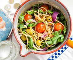 Recept: Spaghetti met olijven   Gezond eten