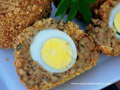 Masala Scotch Eggs Recipe