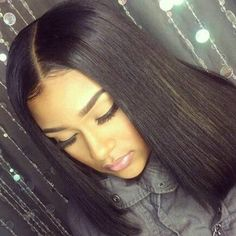#middle#parting#bob#silky#straight#nice#cool#like#pin