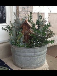 35 amazing winter front porch decor ideas to inspire your holiday decor 2019 – A Nest With A Yard - winter decor Christmas Planters, Outdoor Christmas, Winter Christmas, Christmas Home, Christmas Crafts, Christmas Ideas, Christmas Music, Christmas Movies, Christmas Christmas