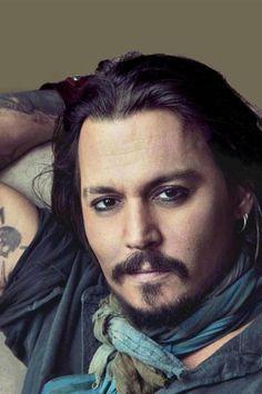 Johny Depp - love a confident guy