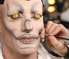 макияж для хеллоуина, Hellowin makeup