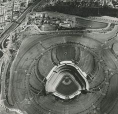 Dodgers Stadium,  1000 Elysian Park Ave Photograph: Ed Ruscha
