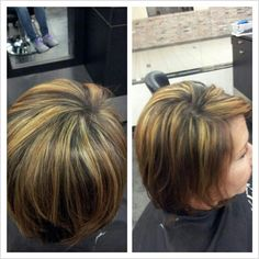 Highlights and hair cut by Emilee at Studio Chroma, Miami