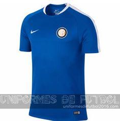 857569341bc5f uniforme del entrenamiento azul Inter Milan 2015-16
