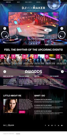 DJ Music HTML Template