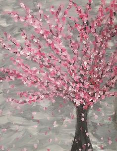 Apple Pie Painting Basic Kit 'Dogwood in Spring' 1 Painter - for kids high heels Dealing With Difficult People, City Painting, Party Kit, Party Ideas, Paint And Sip, Beginner Painting, Fun At Work, Paint Party, Girls Night
