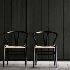 thedesignwalker: The Design Walker: Hans Wegner wishbone chair www.danishdesigns…