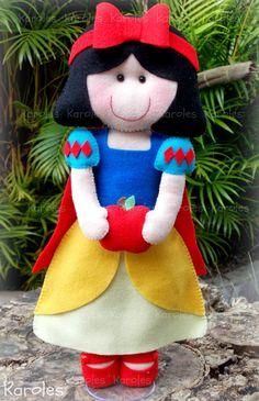 felt Snow White
