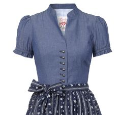 Dirndlkleid Martha denim 34