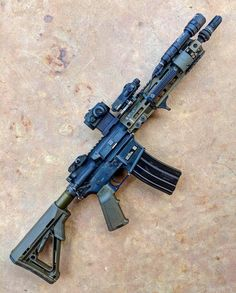 Airsoft Guns, Weapons Guns, Guns And Ammo, Tactical Rifles, Firearms, Ar 15 Builds, Battle Rifle, Custom Guns, Bushcraft
