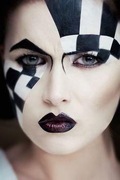 Make up: Toporova Yulia Chess Queen Model: Viorela Nistreanu