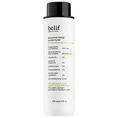 What it is:A toner formulated with bergamot and sage to balance normal to combination skin, leaving it hydrated, soothed, and balanced after cleansing. What it is formulated to do:This botanical toner features a unique gel-liquid format that's d Skin Toner, Facial Toner, Beauty Routine Calendar, Remedies For Glowing Skin, Cream For Oily Skin, Skin Care Routine Steps, Herbal Extracts, Bergamot