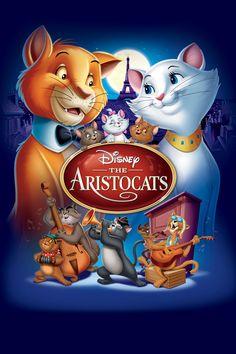 The Aristocats (Two-Disc Blu-ray/DVD Special Edition in Blu-ray Packaging) (Walt Disney) Walt Disney, Disney Cinema, Disney Movie Club, Disney Films, Disney Pixar, Disney Characters, Disney Movie Posters, Disney Animation, Disney Channel