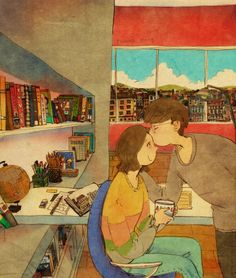 Любовь, она вмелочах... Нежно целовать в лобик
