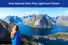 Free Natural Color Pop Lightroom Preset @ Photography Planet