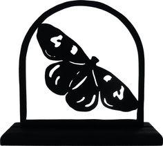 Meadow Fritillary Butterfly Handmade Wood Display от mountainbrook