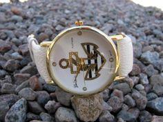 Damklocka Geneva - Platinum Ankare (vit) Snygg klocka till sommaren med ankare - 99kr. #geneva #klocka #damklocka #watch #ankare