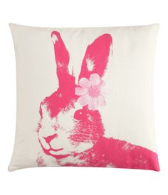 From HM. Rabbit pillow.