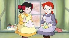 赤毛のアン Anne of Green Gables Cartoon Wallpaper, Anne Auf Green Gables, Film Anime, American Cartoons, Childhood Characters, Studio Ghibli Art, Disney Rapunzel, Anne Shirley, Anime Scenery