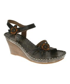 Loving this Spring Step Gray Lilith Wedge on #zulily! #zulilyfinds
