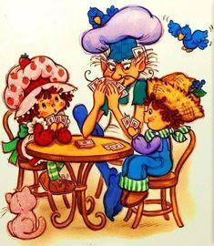 Vintage Strawberry Shortcake, Strawberry Blueberry, Princess Peach, Old Things, Kawaii, Rainbow, Dolls, Junk Journal, Disney Characters