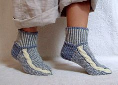HAND KNITTED SOCKS/Women Socks/Cold Season Accessories/Foot Warmer Acessories/Feminine Knitted Accessories/Cozy Socks/Ready to Ship.
