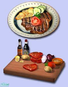 Can't Download/Sims 2   exnem's T-Bone Steak