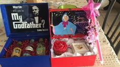 Will you be my God Father / mother